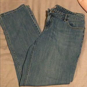 J Jill boyfriend jeans size 8